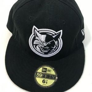 New Era Cats flat bill fitted hat
